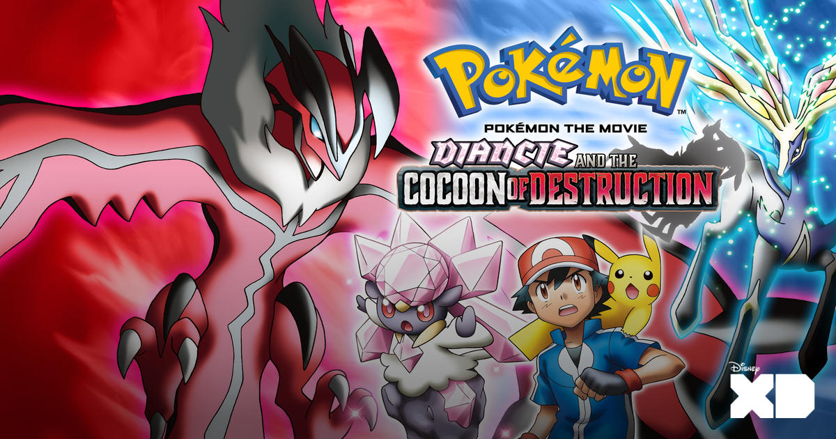 Watch Pokemon The Movie Diancie And The Cocoon Of Destruction